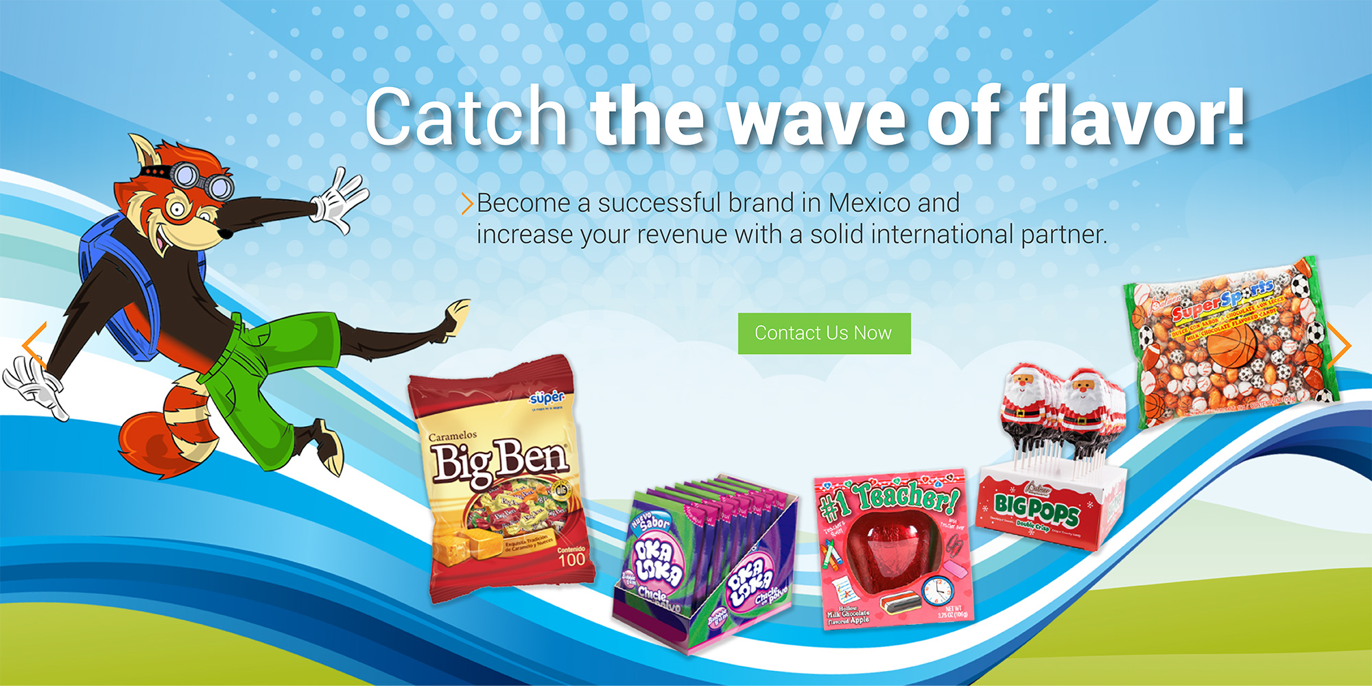 PAF Catch the Wave of Flavor
